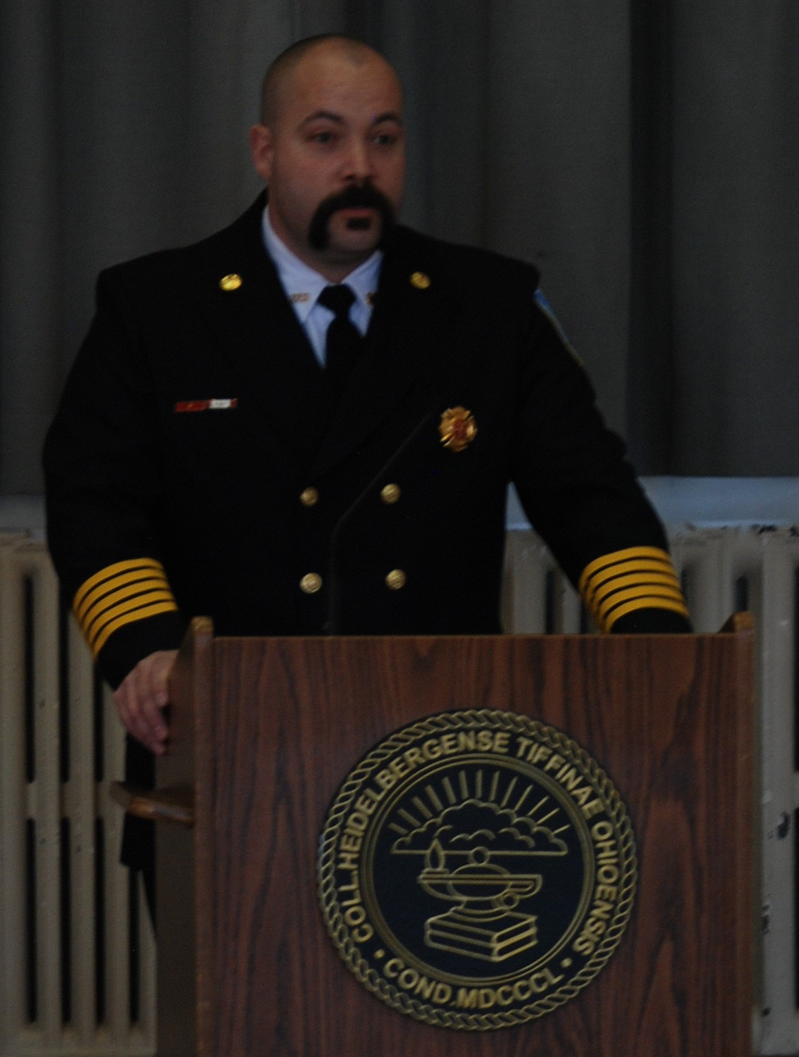 Fire Chief Kevin Veletean